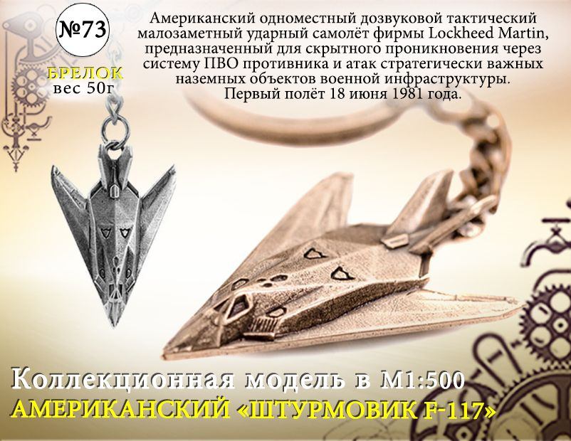 "Форма №73 ""Штурмовик F-117"""