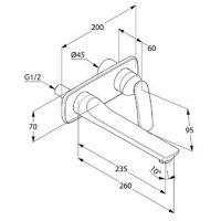 Kludi Balance смеситель для раковины 522470575