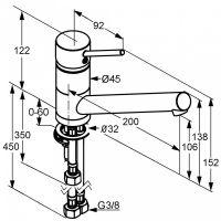 Kludi Scope смеситель для кухни 339390575