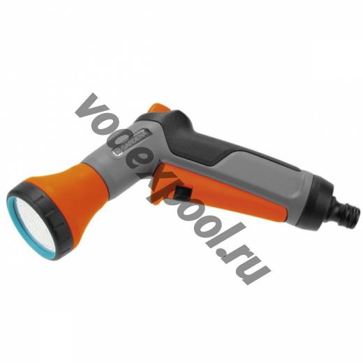 Комплект: Пистолет-распылитель для полива Classic + Коннектор с автостопом (Дисплей)