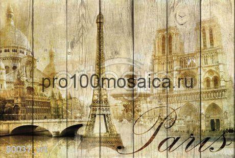 80037 Картина на досках серия RETRO