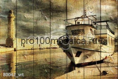 80042 Картина на досках серия RETRO