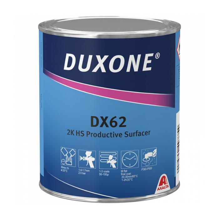 Duxone DX62 2К HS Акриловый грунт экспресс, 1л.
