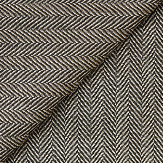 Лоскут трикотажной ткани (ёлочки) коричневый 50х30