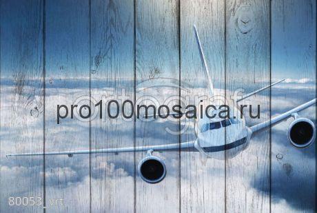 80053 Картина на досках серия АВИАЦИЯ