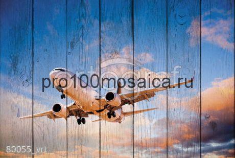 80055 Картина на досках серия АВИАЦИЯ
