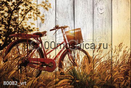 80082 Картина на досках серия ВЕЛОСИПЕДЫ