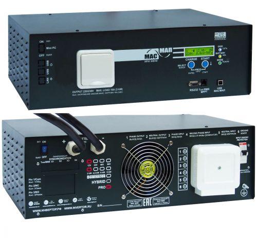 Инвертор МАП Pro 3 кВт 24В