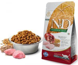 Farmina N&D ANCESTRAL GRAIN  д/к курица, спельта, овес, гранат