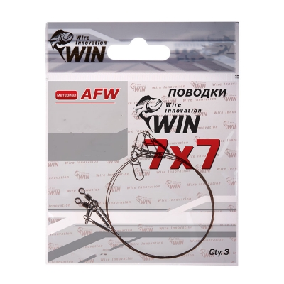 Стальной поводок Win 7х7 (AFW) 12 кг 20 см