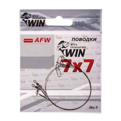Стальной поводок Win 7х7 (AFW) 12 кг 25 см