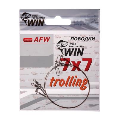 Поводок Win 7х7 (AFW) Trolling 28 кг 50 см