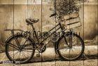 80097 Картина на досках серия ВЕЛОСИПЕДЫ