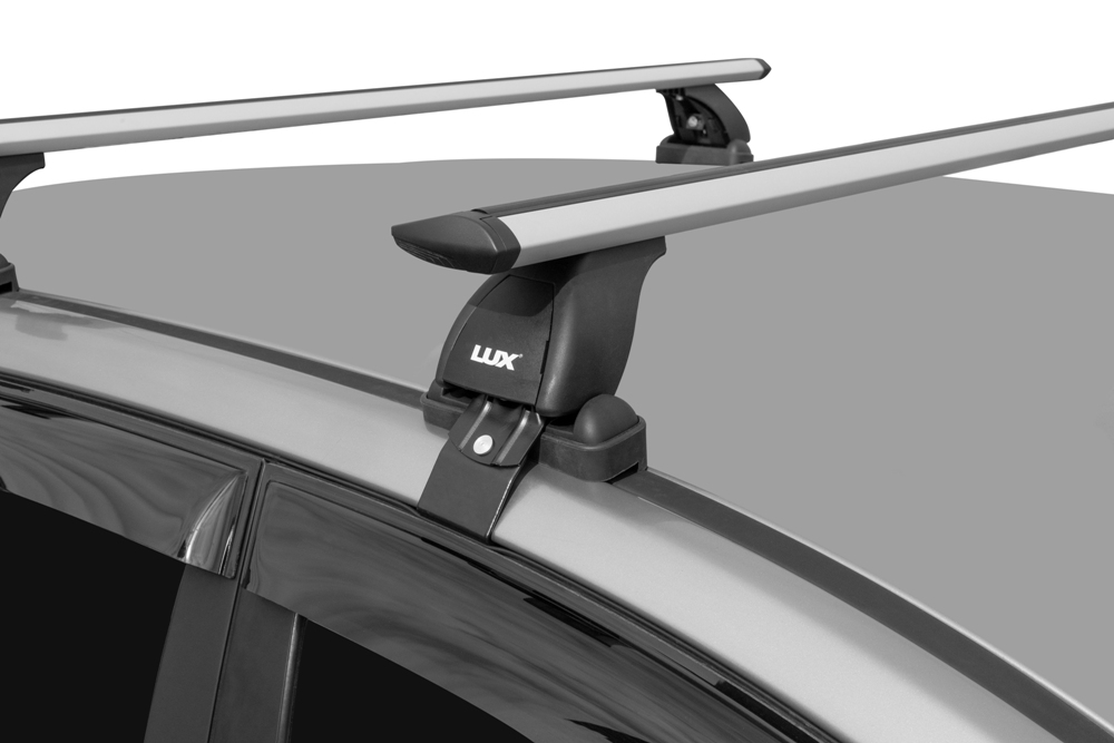 Багажник на крышу Toyota Corolla 2006-13, седан, Lux, крыловидные дуги