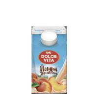"""Йогурт """"Дольче Вита"""" персик 2,5%, 0,45л"""