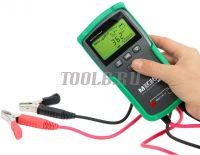 МЕГЕОН 81024 Тестер кислотных аккумуляторных батарей с напряжением 12 и 24 В цена