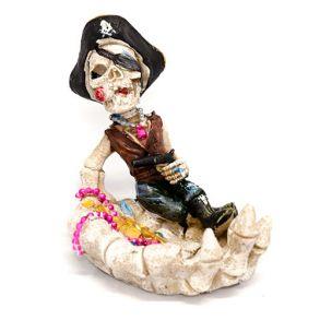 Сигаретная Пепельница Скелет - пират