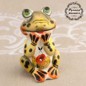 Сувенир «Лягушка мечта», 7 см, цвет, гжель 3367770