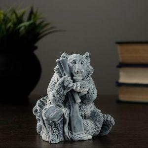 """Сувенир """"Медведь охотник""""   4198978"""