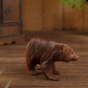 """Сувенир """"Медвежонок"""" дерево 15х7х10 см   4575163"""