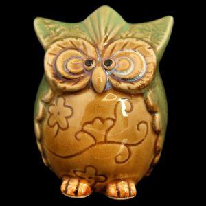 """Сувенир керамика """"Совёнок пучеглазый"""" МИКС 7х5х5 см   2554013"""