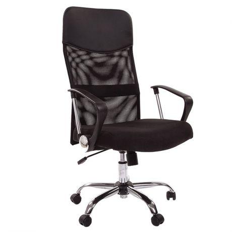 Кресло руководителя Chairman 610 CH, ткань черная, механизм качания