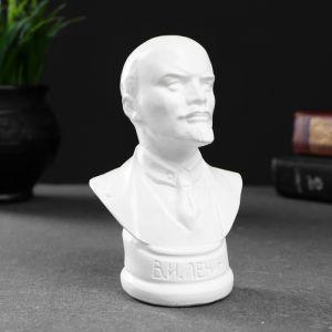 Бюст Ленина белый, 12х7,5см 4877847