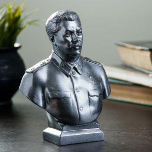 Бюст Сталин большой металлик 16 см 1380822