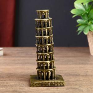 """Сувенир металл """"Пизанская башня"""" 15,5х7х7 см   2541320"""