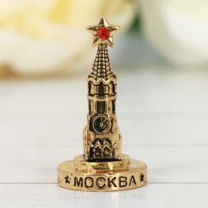 Фигурка «Москва. Спасская башня», под золото