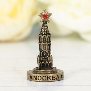 Фигурка «Москва. Спасская башня», под латунь
