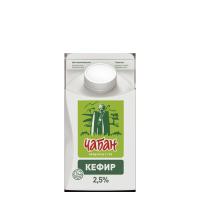"""Кефир """"Чабан"""" 2,5% , 0,45л, п/уп"""
