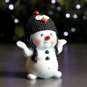 "Фигура ""Снеговик - пингвин"" 6х9х11см   3865011"