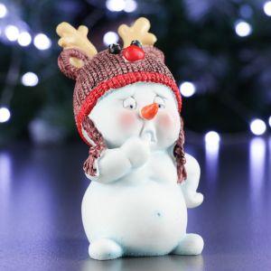 """Фигура """"Снеговик""""  8.5х7.5х11.5см   4488552"""