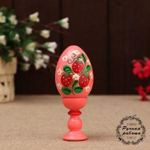 Сувенир «Яйцо», на подставке,10 см, ручная роспись, микс  4913633