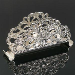 Салфетница «Ажур», 14?3?7 см, с кристаллами Сваровски   4552527