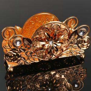 Салфетница «Ажур», 17?5?9 см, с кристаллами Сваровски   4552524
