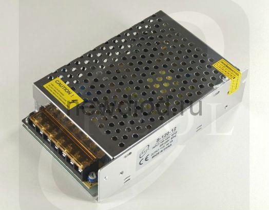 Блок питания 120W.12V.10A.IP20 (Металлический корпус) OREOL