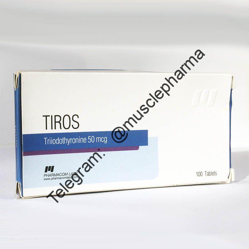 TIROS (PHARMACOM LABS). 50 таб. по 50 mcg