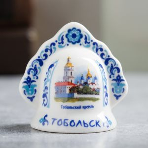 Колокольчик в форме кокошника «Тобольск. Кремль»