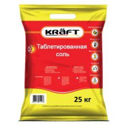 Соль Таблетированная KRAFT 25 кг (Германия-Россия)