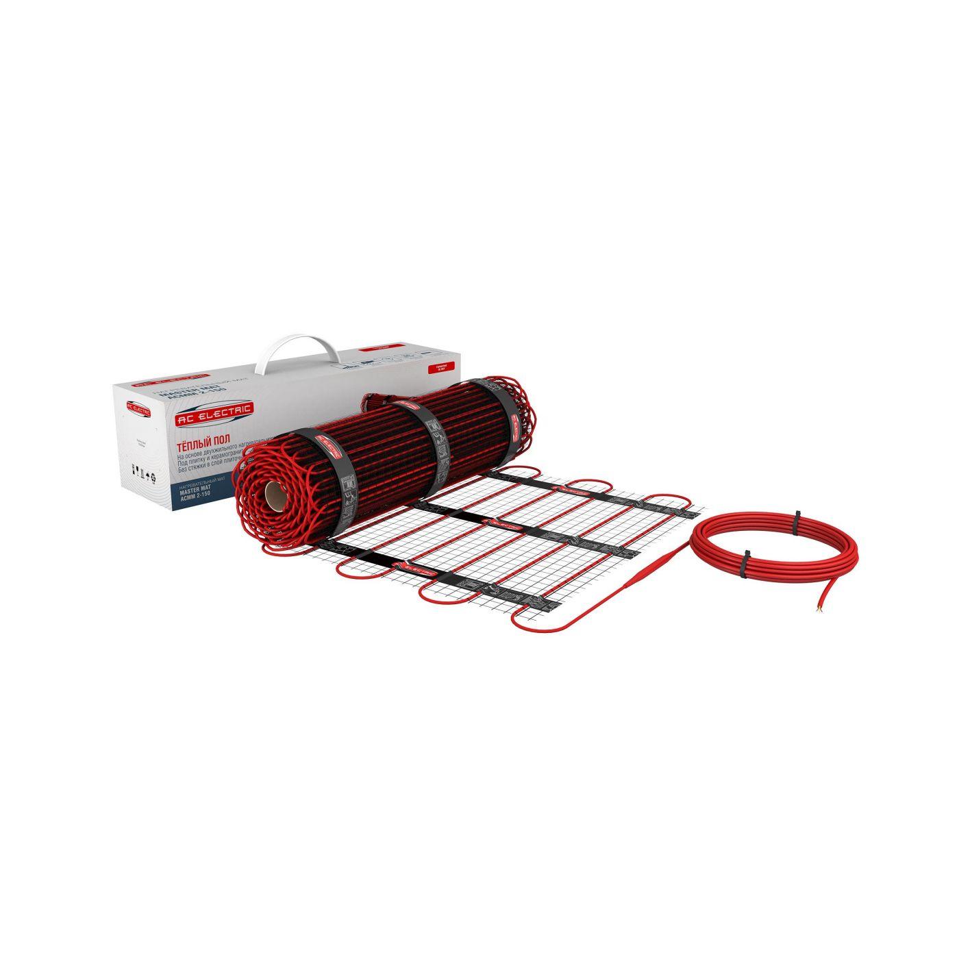 Нагревательный мат AC Electric ACMM 2-150 8м2 1200Вт