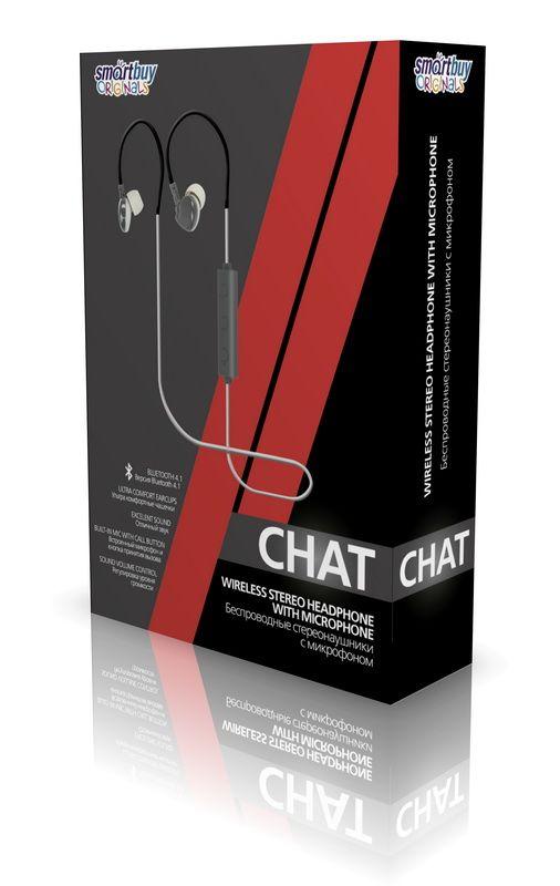 Внутриканальная Bluetooth-гарнитура Smartbuy TWIT