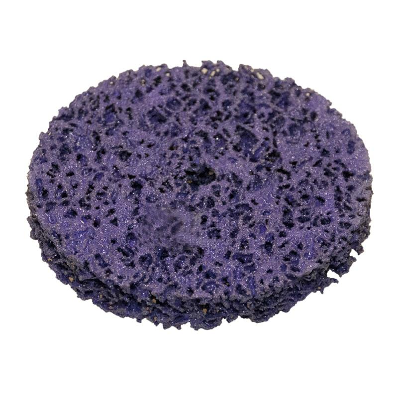 """Hamach Диск """"Poly X"""" для удаления ржавчины и краски, фиолетовый, d100мм"""