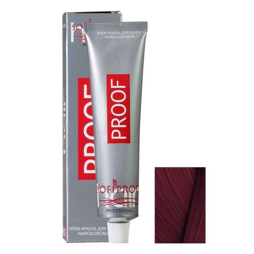 Крем-краска для волос Proof 6.6 темно-русый красный, 60 мл