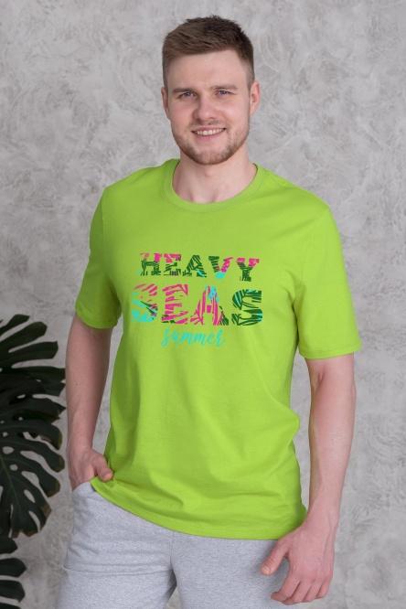 Мужская футболка 1302-27, кулирка