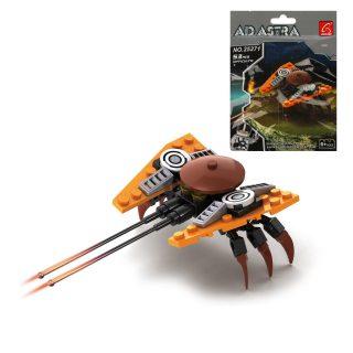 Констуктор серии Космос, Инопланетный истребитель, 53 дет., пакет