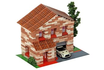 Констр-р Архитектурное моделирование Двухэтажный домик 415 дет.