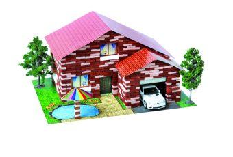 Констр-р Архитектурное моделирование Дом с бассейном 870 дет.