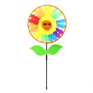 Вертушка Радужное солнце 68 см, ткань